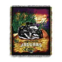 NFL Jacksonville Jaguars Tapestry Throw