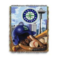 MLB Seattle Mariners Tapestry Throw