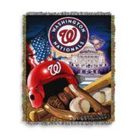 MLB Washington Nationals Tapestry Throw