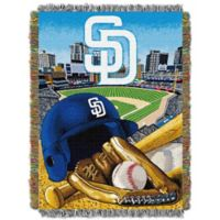 MLB San Diego Padres Tapestry Throw