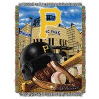 MLB Pittsburgh Pirates Tapestry Throw