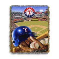 MLB Texas Rangers Tapestry Throw