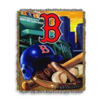 MLB Boston Red Sox Tapestry Throw