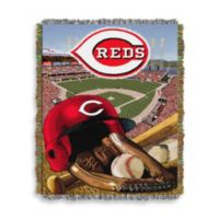 MLB Cincinnati Reds Tapestry Throw