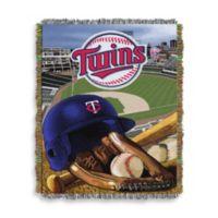 MLB Minnesota Twins Tapestry Throw