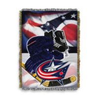 NHL Columbus Blue Jackets Tapestry Throw