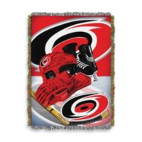 NHL Carolina Hurricanes Tapestry Throw