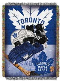 NHL Toronto Maple Leaves Tapestry Throw