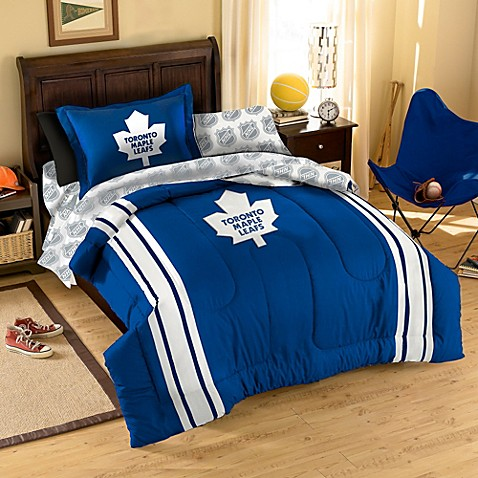 NHL Toronto Maple Leafs Comforter Set