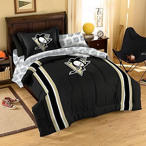 Nhl Pittsburgh Penguins Complete Comforter Set