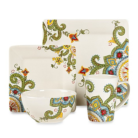 Tabletops Unlimited Abbey Square Dinnerware Collection