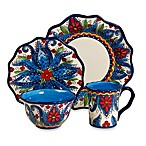 Tabletops Unlimited® Lucca 4-Piece Scalloped Place Setting