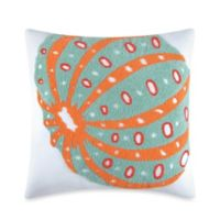 Tufted Sea Urchin 18-Inch Square Throw Pillow