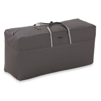Classic Accessories® Ravenna Patio Cushion Bag in Dark Taupe - Buy Patio Cushion Storage Bags From Bed Bath & Beyond