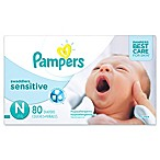 Pampers® Swaddlers Sensitive™ 80-Count Size 0 Super Pack Diapers