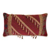 Austin Horn Classics Verona Boudoir Throw Pillow in Red
