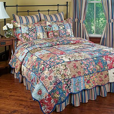 Kensington Garden Quilt Set Bed Bath Amp Beyond