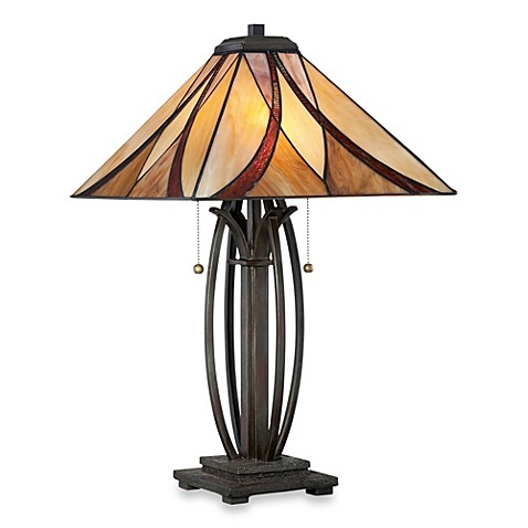 Quoizel Asheville Table Lamp Bed Bath Amp Beyond