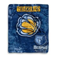 NBA Memphis Grizzlies Super-Plush Raschel Throw Blanket