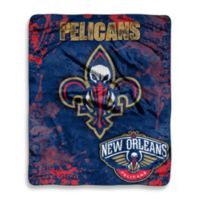 NBA New Orleans Pelicans Super-Plush Raschel Throw Blanket