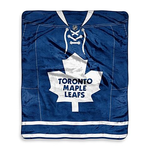 Nhl Toronto Maple Leafs Super Plush Raschel Throw Blanket