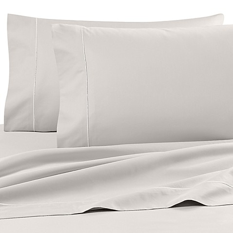buy wamsutta finest sateen 725 thread count twin extra long deep pocket fitted sheet in ivory. Black Bedroom Furniture Sets. Home Design Ideas