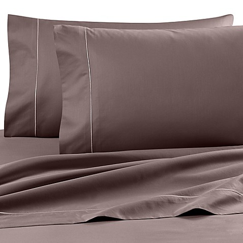 buy wamsutta finest sateen 725 thread count queen deep pocket fitted sheet in taupe from bed. Black Bedroom Furniture Sets. Home Design Ideas