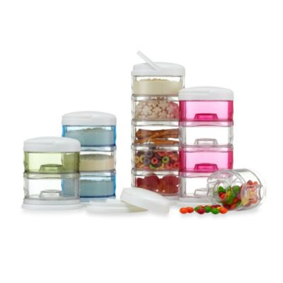 Packin SMART by Innobaby 4 Tier Stackable Formula Dispenser and