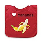 green sprouts® by i play.® Red Bananas Favorite Food Absorbent Bib