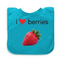 green sprouts® by i play.® Aqua Berries Favorite Food Absorbent Bib