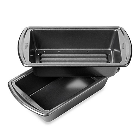 Buy Wilton 174 Advance Meatloaf 2 Piece Pan Set From Bed