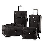American Tourister® Fieldbrook II 4-Piece Rolling Luggage Set in Black