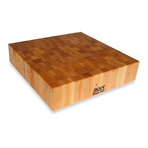image of John Boos 24-Inch x 24-Inch Maple Chopping Block