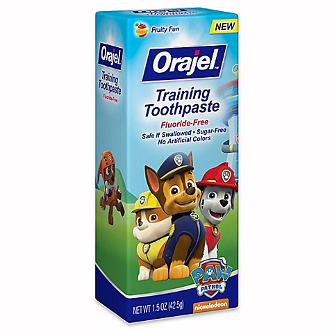 Orajel 1 5 Oz Thomas Toddler Training Toothpaste In Tooty