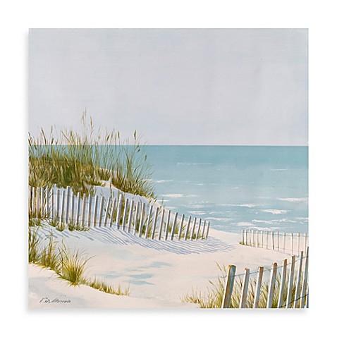 Fabrice de Villeneuve Studio Coastal View Printed Wall Art - Bed ...