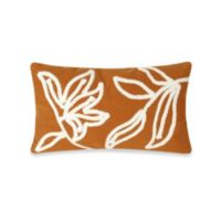 Liora Manne Windsor 12-Inch x 20-Inch Oblong Throw Pillow in Orange
