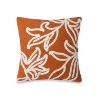 Liora Manne Windsor 20-Inch Throw Pillow in Orange