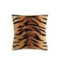 Liora Manne 20-Inch Square Throw Pillow in Tiger