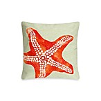 Liora Manne Square Outdoor Throw Pillow in Starfish