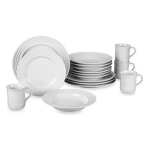 Le Creuset® 16-Piece Dinnerware Set in White  sc 1 st  Bed Bath u0026 Beyond & Le Creuset® 16-Piece Dinnerware Set in White - Bed Bath u0026 Beyond