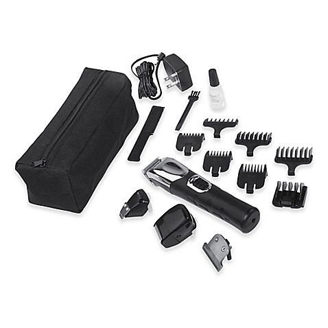 wahl groomsman pro lithium ion all in one groomer set bed bath beyond. Black Bedroom Furniture Sets. Home Design Ideas