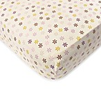 Baby's First by Nemcor Plum Owl Meadow Crib Sheet