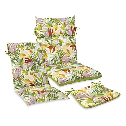 Outdoor Seat Cushion Collection in Leaf