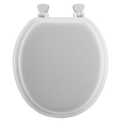 Round Soft Toilet Seat with Durable Wood CoreBuy Soft Toilet Seats from Bed Bath   Beyond. Black Soft Toilet Seat. Home Design Ideas