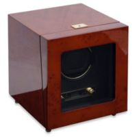 Wolf Designs® Savoy Single Watch Winder in Burl