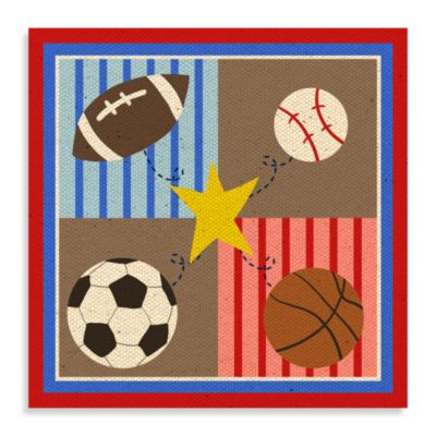 Wall Decor U003e Sports Canvas Wall Art I