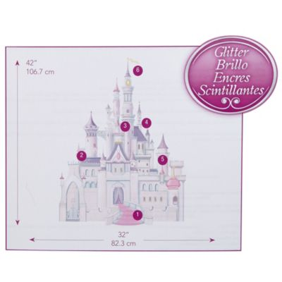 Wall Decor U003e Disney Baby® Princess Castle Giant Wall Decal