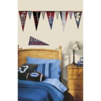 RoomMates Varsity Pennants Giant Wall Decals