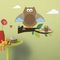 RoomMates ONE Décor Owls and Branches Giant Wall Decals