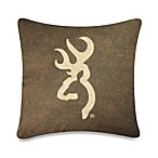 Browning Buckmark 20-Inch Square Pillow